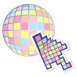 Color web cursor Stock Image