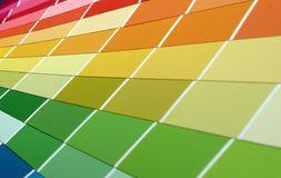 Color weel. Close up Royalty Free Stock Photography