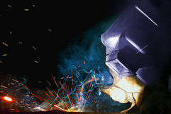 Color welder Stock Photography