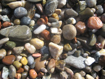 Color wet stones Royalty Free Stock Images