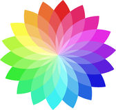 Color wheel stock illustration
