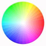 Color wheel stock image