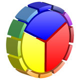 Color wheel Stock Photography