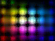 Color Wheel Background Means Colors Hues And Chromatic Stock Images