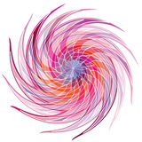 Color wheel background. Vector Illustration Royalty Free Stock Photos