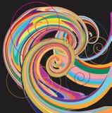 Color wheel background. Vector Illustration Stock Photos