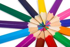 Color wheel close up Royalty Free Stock Photography