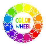 Color wheel or color circle Stock Images