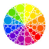 Color wheel or color circle Royalty Free Stock Photo