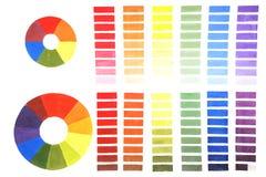 The color wheel Stock Photo