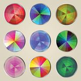 Color wheels Royalty Free Stock Images