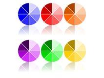 Color Wheels Royalty Free Stock Photos