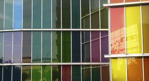 Color windows Royalty Free Stock Photos