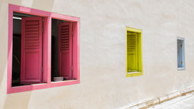 Color of windows royalty free stock image