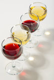 The color of wine. Stock Photography