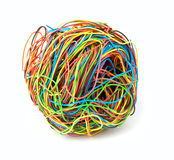 Color wire Stock Photo