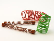 Color wire spiral Royalty Free Stock Image
