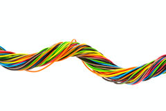 Color wire Royalty Free Stock Photography