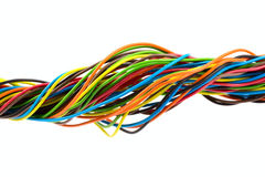 Color wire Royalty Free Stock Images