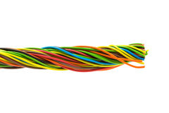 Color wire Royalty Free Stock Photos