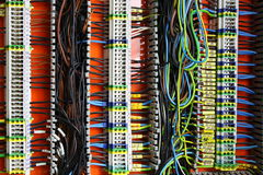 Color wires Royalty Free Stock Photo