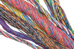 Color wires Stock Photography