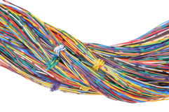 Color wires Stock Photos