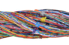 Color wires Royalty Free Stock Image