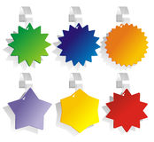 Color wobbler Royalty Free Stock Photography