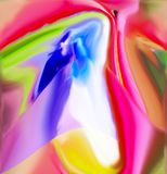 Color is a wonderful and attractive abstraction. Color graphics royalty free stock images