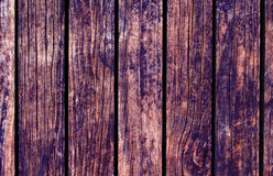 Color wood background. Brown wood texture with vertical lines. Stock Images
