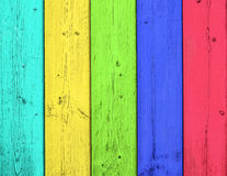 Color wood background Stock Photos