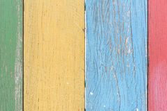 Color wood background Stock Photography