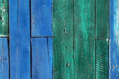 Color wood background Royalty Free Stock Photo