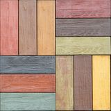 Color wood Royalty Free Stock Photography