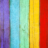 Color wood planks background Stock Images
