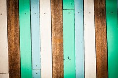 Color wood wall Royalty Free Stock Photos