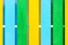 Color wooden fence Texture pattern Royalty Free Stock Image
