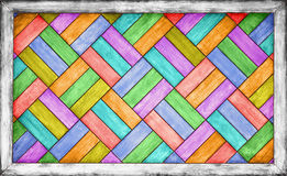Color wooden parquet background Stock Image