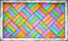 Color wooden parquet background Stock Image