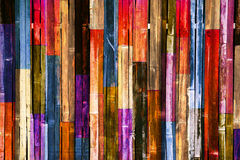 Color wooden wall background. Candy color wooden wall background Royalty Free Stock Photography