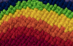 Color Wool Crochet Stock Image