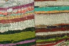 Color of woven fabric texture Stock Photos