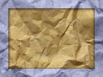 Color wrinkled paper texture. Close up color wrinkled paper texture Stock Images