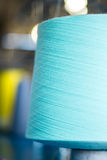 Color yarn cone closeup Stock Photos