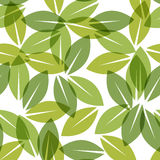 Color of the year 2017. Greenery beautiful trendy seamless pattern. Vector illustration Royalty Free Stock Photos