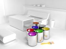 Color your interior Stock Photos