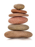 Color Zen stones Stock Photography