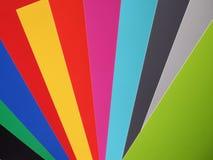 Colora amostras Imagem de Stock Royalty Free