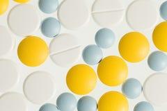 Colora comprimidos Imagem de Stock
